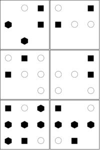 UCAT Abstract reasoning Sample set A