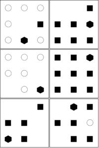 UCAT Abstract reasoning Sample set B